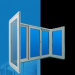 Балконы и лоджии Ferestre Termopan MD PRETURI - Usi Ferestre PVC Geamuri Termopane Moldova | Ferestre Salamander Chisinau| Ferestre PVC - Ferestre Steclopachet.