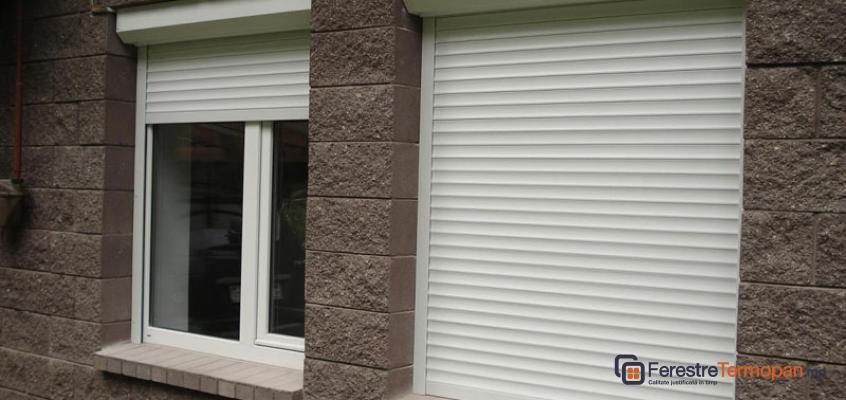 Rolete pentru ferestre Ferestre Termopan MD PRETURI - Usi Ferestre PVC Geamuri Termopane Moldova | Ferestre Salamander Chisinau| Ferestre PVC - Ferestre Steclopachet. image 1
