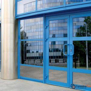 Двери из алюминия 1