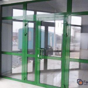 Двери из алюминия 18