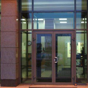 Двери из алюминия 23