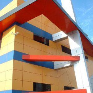 Фасады из алюминия 10