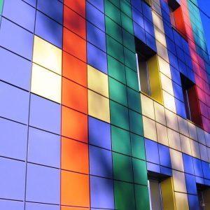 Фасады из алюминия 13
