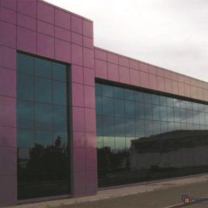 Фасады из алюминия 2