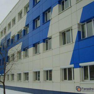 Фасады из алюминия 4