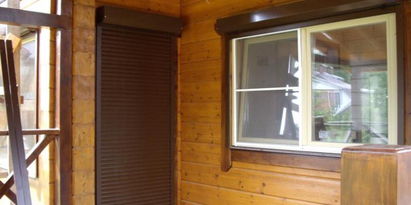 Роллеты на двери